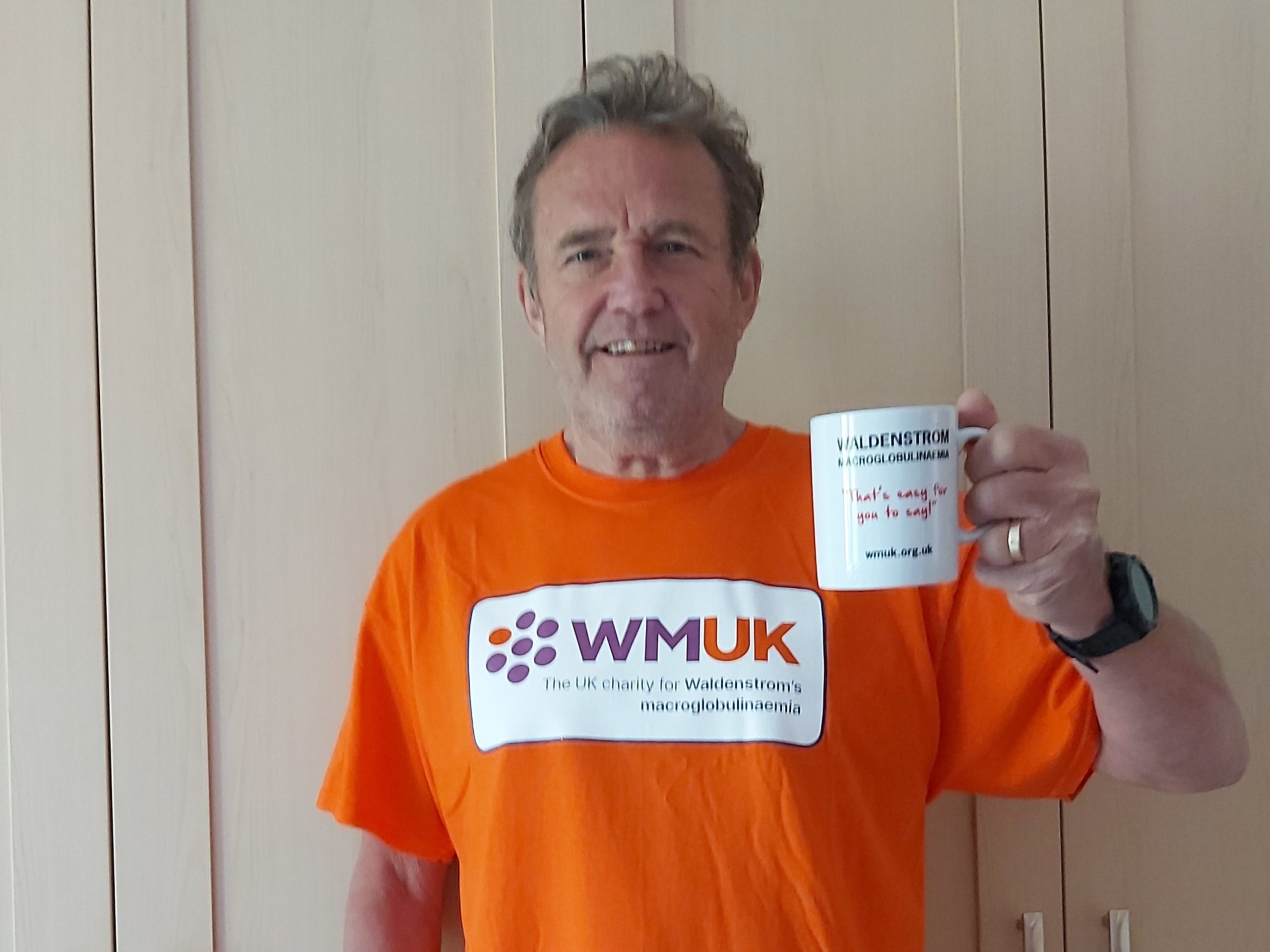 Bob Perry in WMUK T-shirt